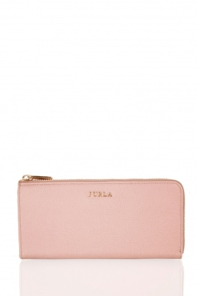 Leather wallet Babylon | nude