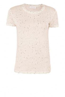 IRO | Linnen T-shirt Trudie | wit