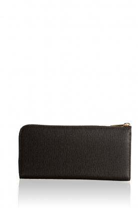 Leather wallet Babylon | black