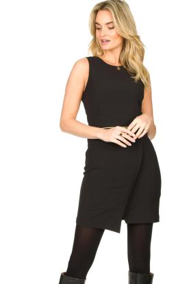Patrizia Pepe |  Sleeveless dress Kyra | black