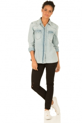 IRO | Skinny jeans Jarod lengtemaat 30 | zwart