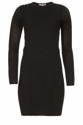 Patrizia Pepe | Knitted dress Joanne | black