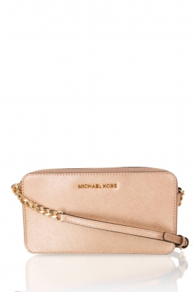 MICHAEL Michael Kors |  Leather mini bag Jet Set Travel | gold