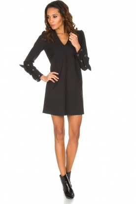 ELISABETTA FRANCHI | Chique jurk Vitalia | zwart