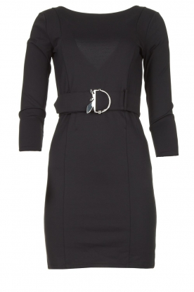 Patrizia Pepe | Belted dress Colette | black