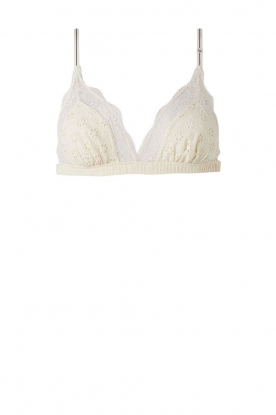 Love Stories |  Lace bralette Love Lace | white
