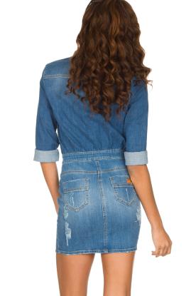 ELISABETTA FRANCHI | Spijkerjurk Rossella | blauw