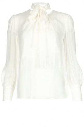 ELISABETTA FRANCHI |  Blouse with bow Sorella | White