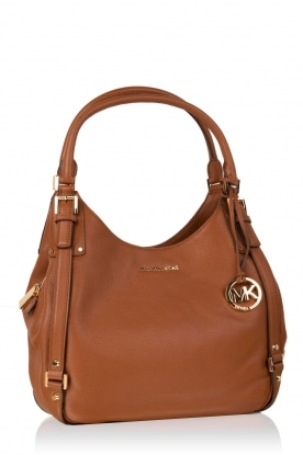 Leather hand bag Bedford | brown