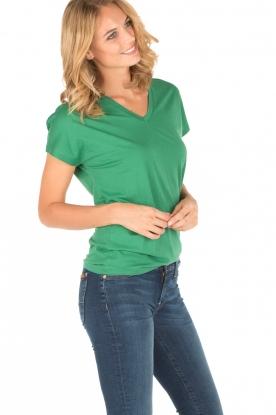 Zoe Karssen | T-shirt Here me roar | groen