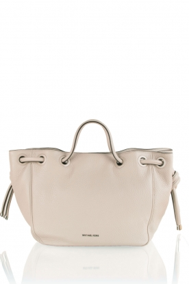 Leather shoulder bag Dalia | natural