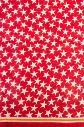 Becksöndergaard | Sjaal Etoiles | rood