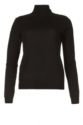 Patrizia Pepe | Turtleneck sweater Sebastiana | black