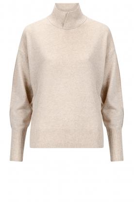 Knit-ted | Merino trui Mia | beige