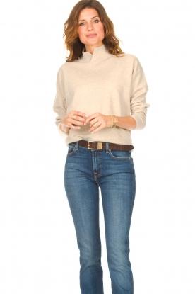 Knit-ted |  Merino sweater Mia | beige