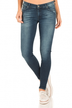 7 For All Mankind | Skinny jeans Slim Illusion lengtemaat 30 | blauw