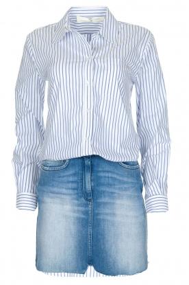 ELISABETTA FRANCHI | Set van rok en blouse Cira | blauw