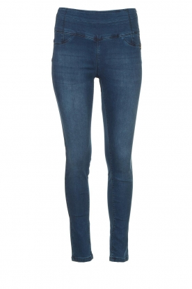 Patrizia Pepe |  High-waist jegging Lola | blue