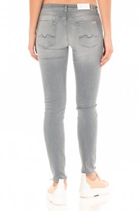 7 For All Mankind   Distressed skinny jeans Slim Illusion lengtemaat 30   grijs