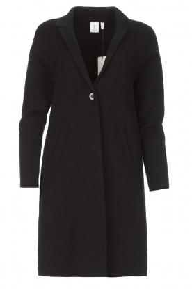 Knit-ted |  Blazer cardigan Sammie | black