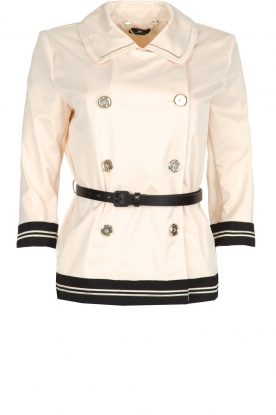 ELISABETTA FRANCHI |  Trench coat Julee | natural