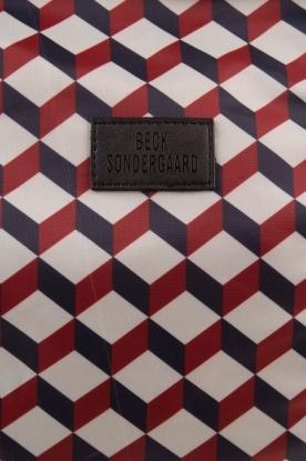 Becksöndergaard | Tas Relyea Cube | blauw/rood