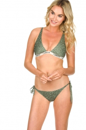 Love Stories | Bikini top Rebecca | green