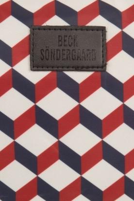 Becksöndergaard | Toilettas Louella Cube | blauw/rood