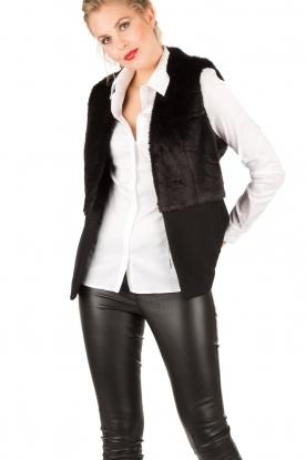 MICHAEL Michael Kors | Gilet Foxy | zwart