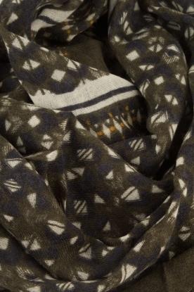 Becksöndergaard | Sjaal Vieille | legergroen