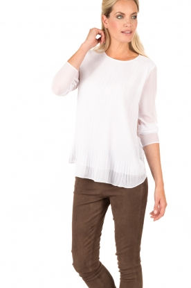 MICHAEL Michael Kors | Top Pleasant | wit