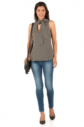 MICHAEL Michael Kors | Zijden top Alston | multi