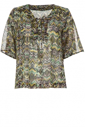 IKKS |  Top Fougere met print | multi