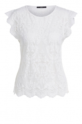 Set | Lace top Abbey | white