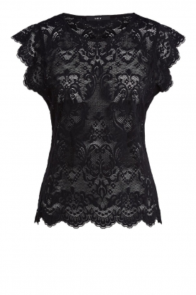 Set | Lace top Abbey | black