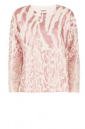 Essentiel Antwerp | Trui Lasya Print | roze