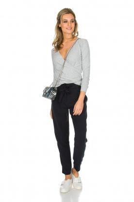 IKKS | Pantalon Sterre | donkerblauw