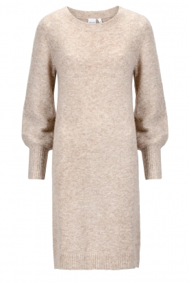 Knit-ted |  Knitted dress Julia | beige