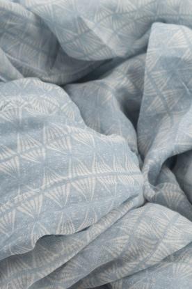 Becksöndergaard | Zijden sjaal Tantine | blauw