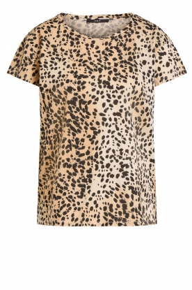 Set | Leopard printed T-shirt Alicia | animal print