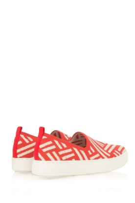 What For | Slip on schoenen Carla | Rood