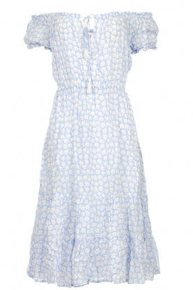 BEACHGOLD |  Dress with floral print Harper | blue