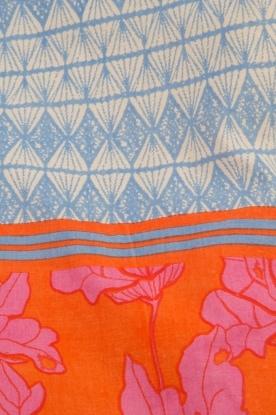 Becksöndergaard | Strandtas Jeanne | oranje/blauw