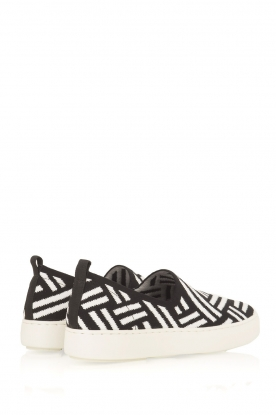 What For | Slip on schoenen Carla | Zwart