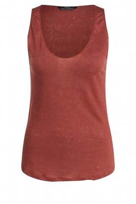 Set | Sleeveless top Ariana | red