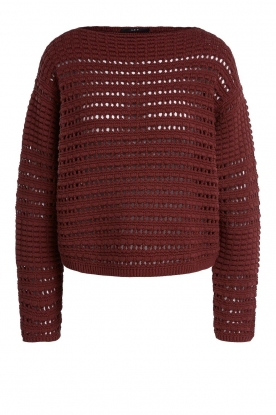 Set |  Knitted sweater Allister | bordeaux