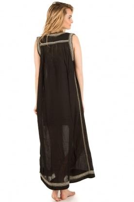 Antik Batik | Beachwear maxijurk Conca | zwart