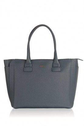 Furla |  Leather handbag Capriccio | blue