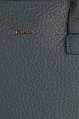Furla | Leren handtas Capriccio | blauw