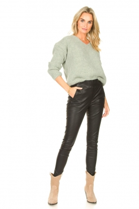 Look Knitted sweater Begonia